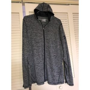 UNDER ARMOUR THIN ZIP UP HOODIE